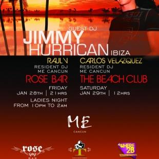 Jimmy Hurrican | Rose Bar & Beach Club @ Me