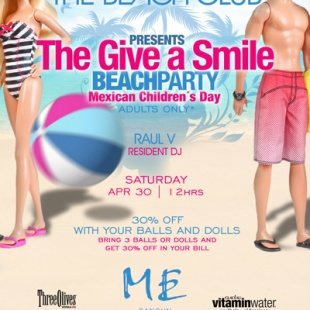 Give a Smile @ The Beach Club