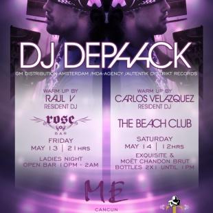 D-Paack @ Rose Bar & The Beach Club