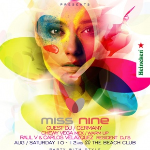 Miss Nine @ The Beach Club