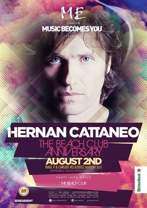 Hernan Cattaneo @Me Cancun